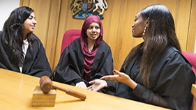 Business, Law & Social Sciences faculty - Law