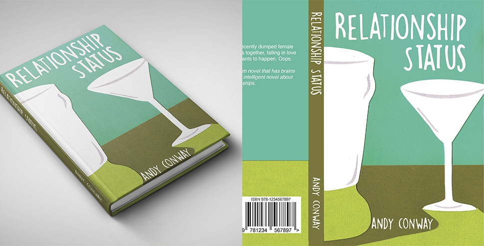 RELATIONSHIP STATUS BOOK COVER DESIGN
