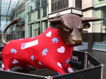 Little Hearts Matter Dress the Bullring Bull