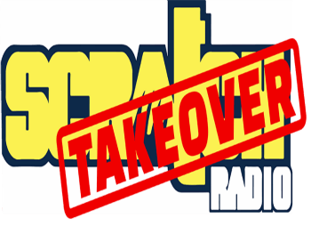Scratch Radio Takeover logo