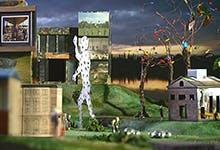 Lucy Norton - Model - Sculpture Park Advertisement