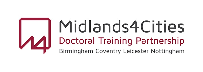 Image result for midlands 4 cities arts and humanities doctoral training partnership