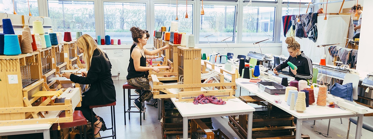 MA Textile and Surface Design course page banner image- 1200x450