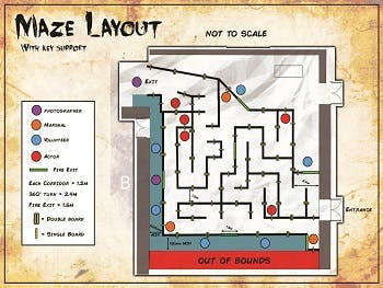 Halloween Haunted Maze