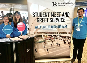 Arriving in the uk meet and greet service birmingham city university we operate a free meet and greet service at birmingham international airport for new international and eu students m4hsunfo