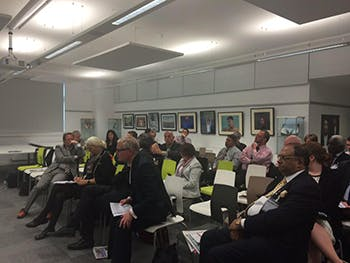business leaders at BCU for economic conference
