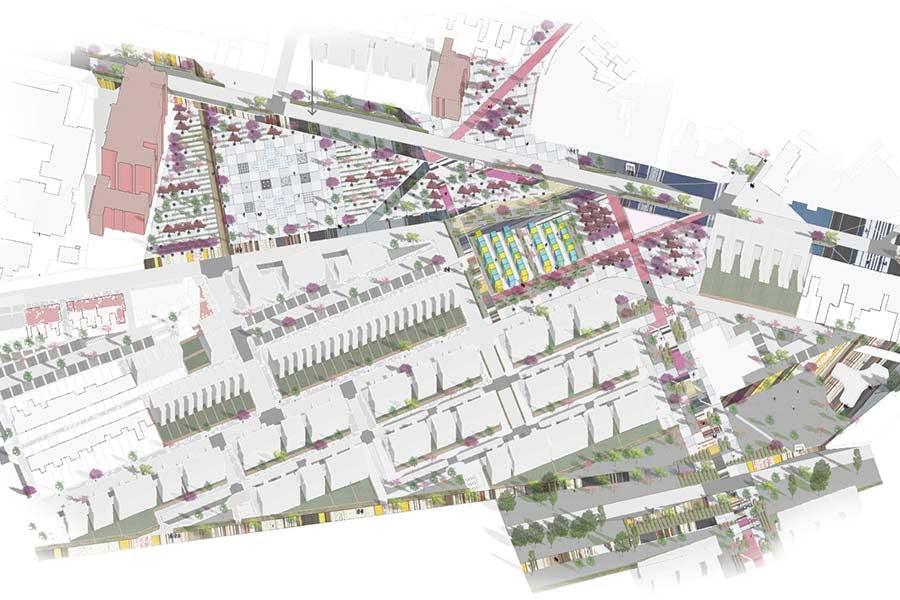 Urban Design work by Ciancimino Giuseppe