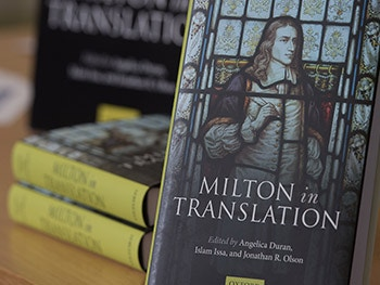 What Milton in Translation Means to Me- Milton book cover- 2017