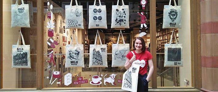5 reasons to study visual arts in Birmingham- Muji