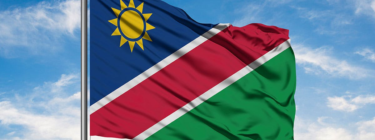 Nambia flag large - UPR project