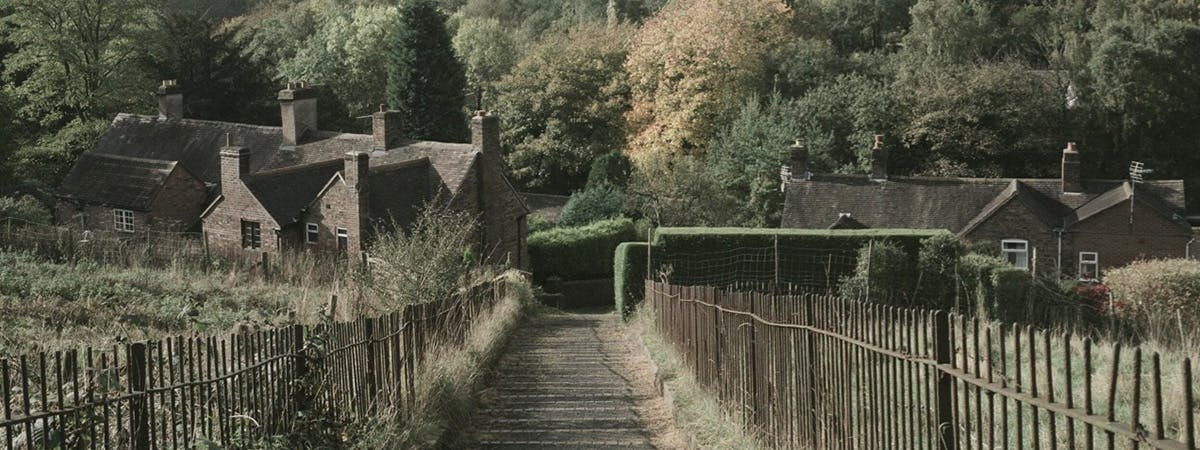 Pathway in a small village