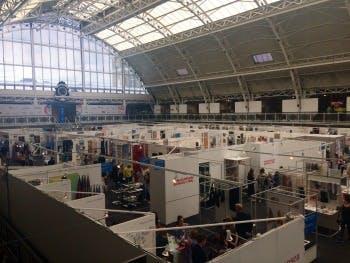 New Designers exhibition space