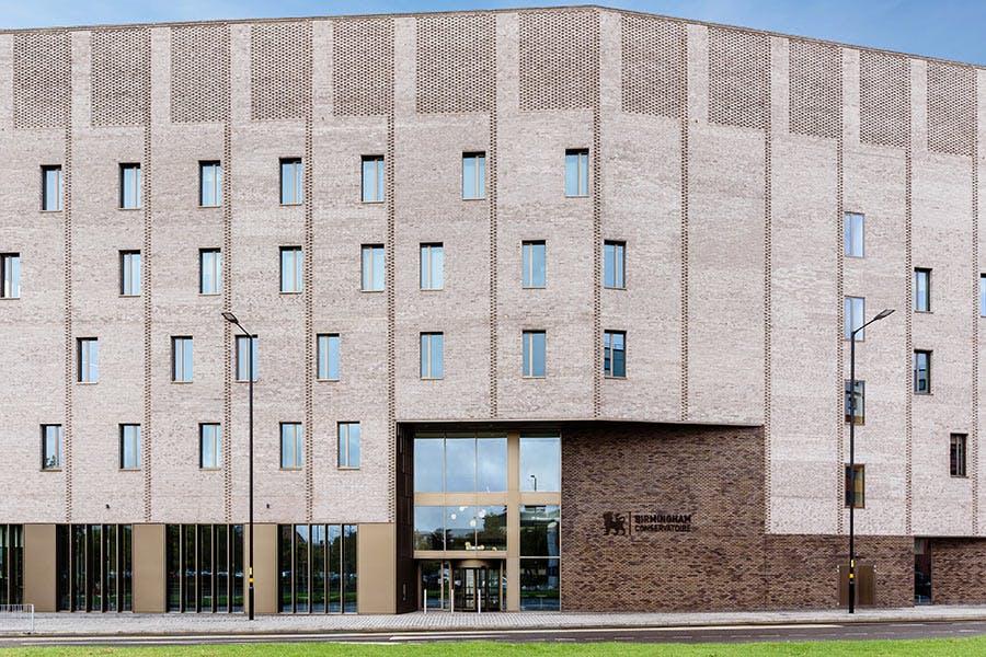 North entrance to Royal Birmingham Conservatoire