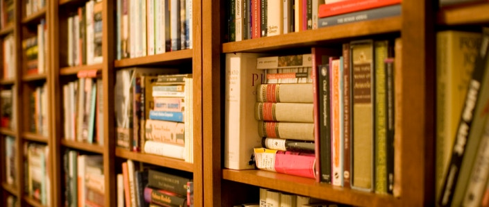 Research bookshelf