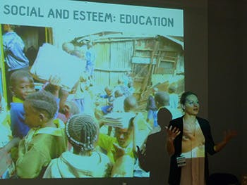 Katie Maynard-Cresswell from Engineers Without Borders