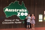 Ben Burnley and Danielle Thornton at zoo in Australia