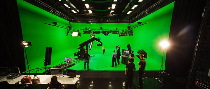 Parkside Mediahouse - Green Screen- Full Width Content