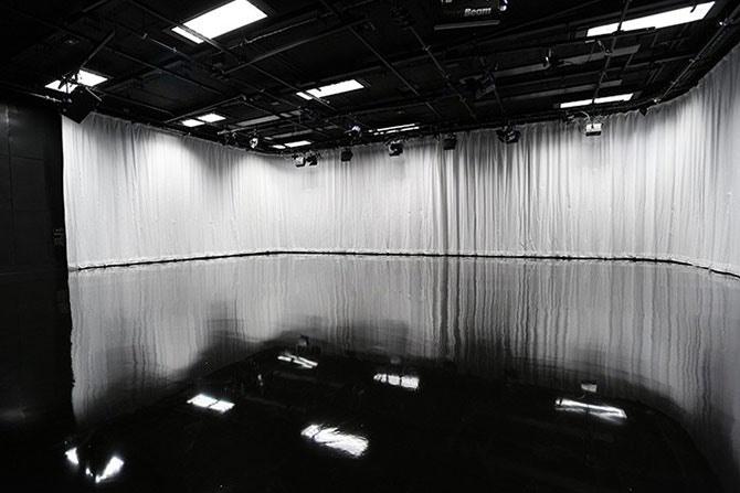 Parkside MediaHouse - TV Production Studios - TV Studiio A Empty