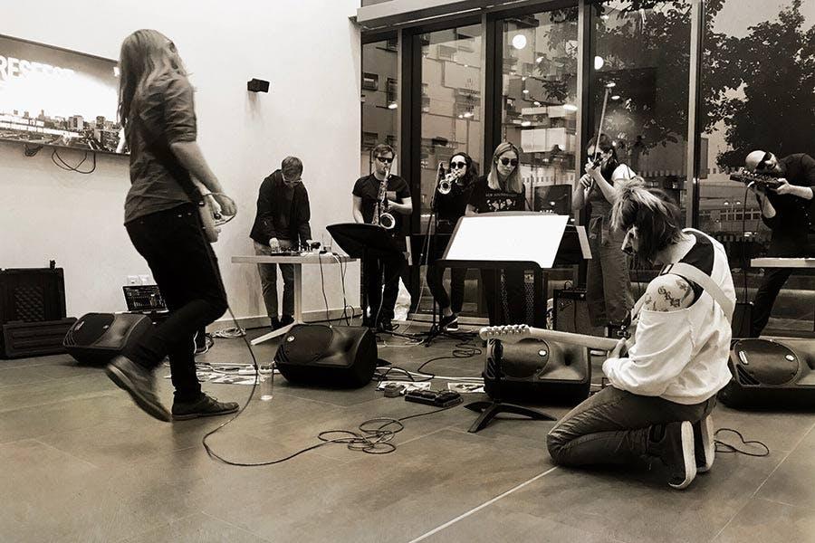 Performance in Conservatoire Atrium