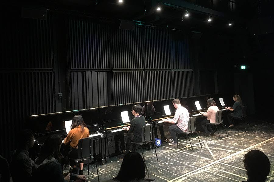 Performing-in-studio