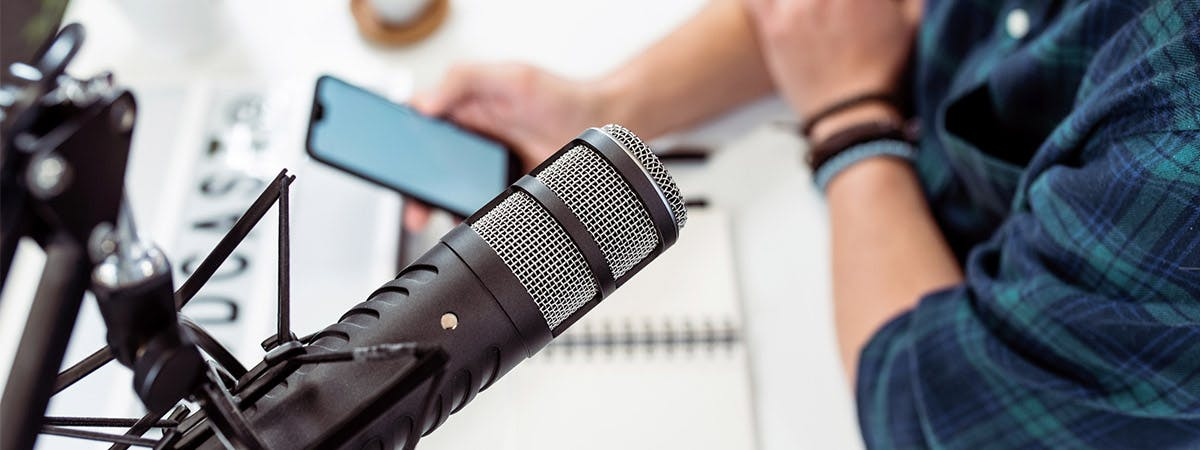 There are a range of podcasts aimed at PhD students.
