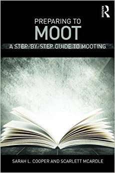 Preparing to Moot Book Cover by Sarah Cooper and Scarlett McArdle