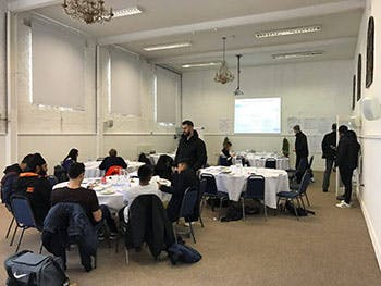 Students on PRINCE2 Training