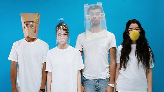 Improvised masks