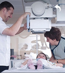 radiography suite