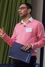 Rajinder Dudrah, part of the Lenny Henry Centre's advisory board