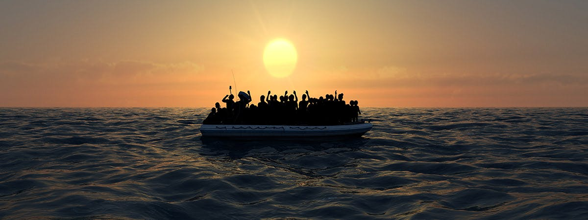 Media constructions of migrants large
