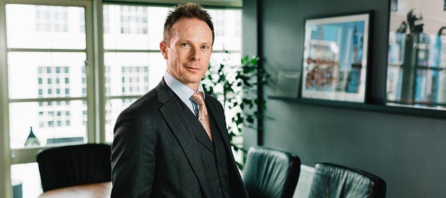 Regan Peggs 900x400 - Regan in his office