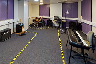 Rehearrsal-Room South and City College