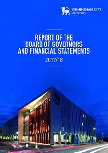 Report of the Board of Governors and Audited Accounts 2017-18