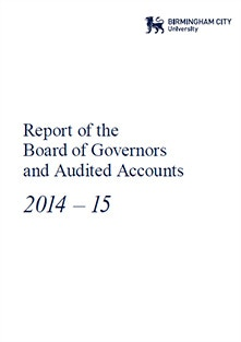 Report of the Board of Governors and Audited Accounts 2014-15