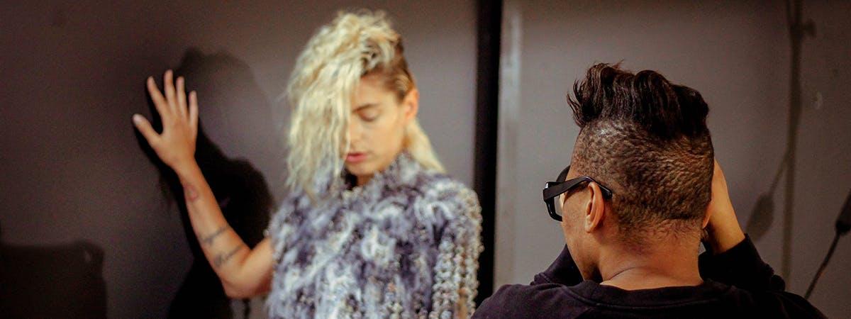 Innovative Fashion Design Graduate, Rhys Ellis, Debuts Second Collection: White Horses
