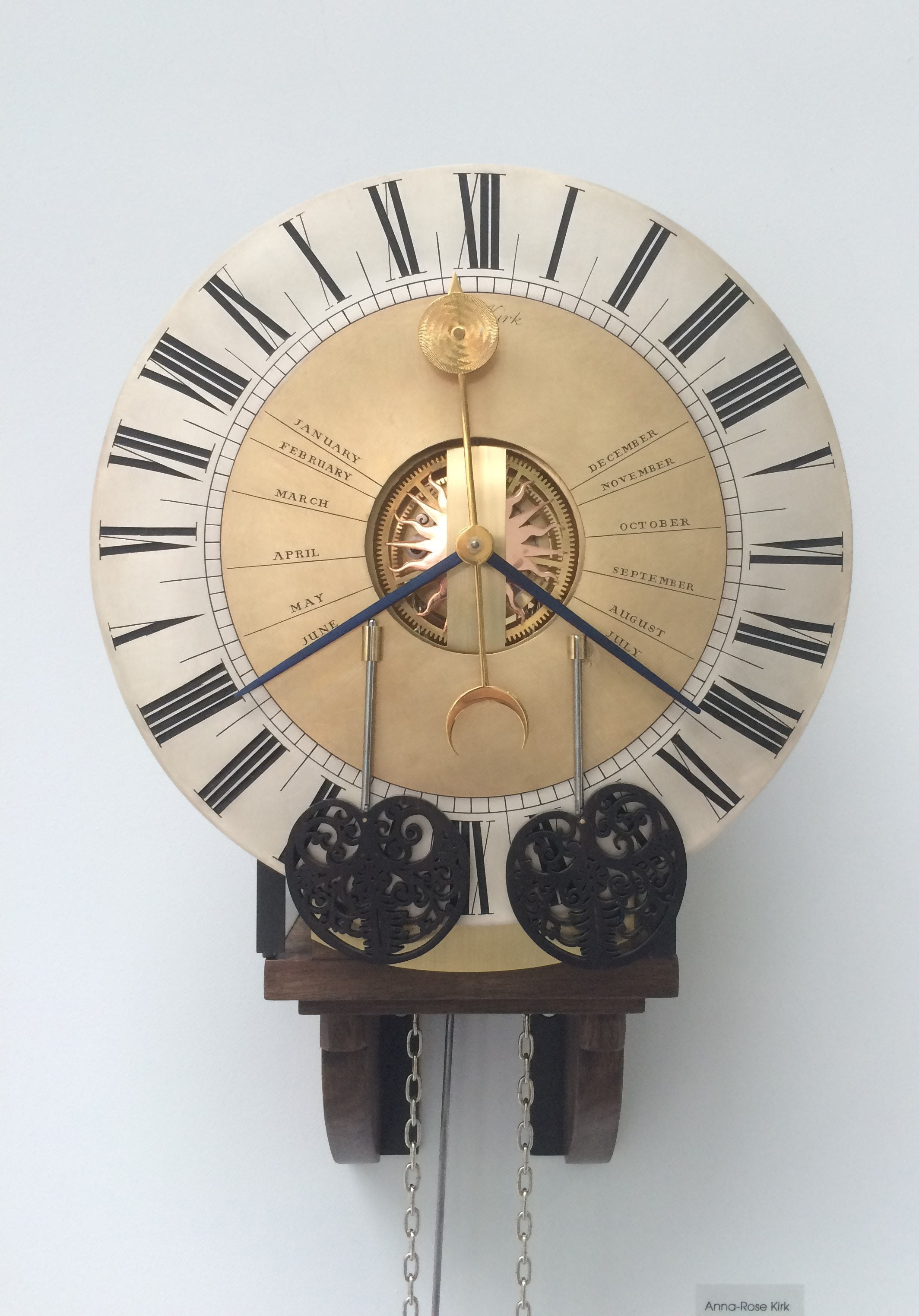 Horology student work-Rosie Kirk
