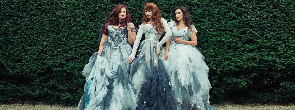 Fashion Design Graduate, Rosie Red, Brings Fantasy Bespoke Bridal Wear to London Fashion Week
