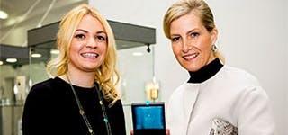 Jewellery School Royal Visit