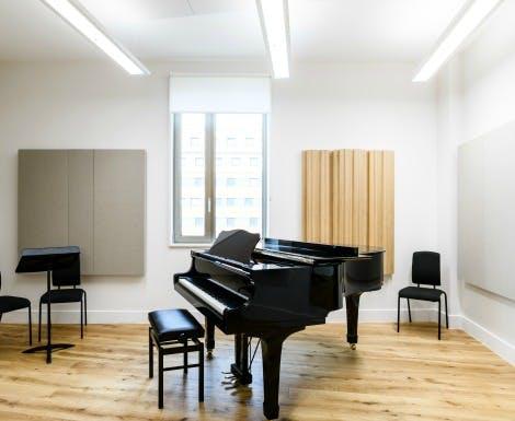 Practice rooms hire index