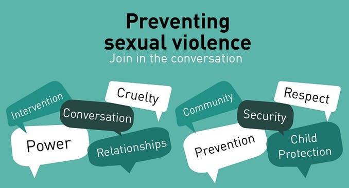 Preventing Sexual Violence Conference Graphic 3