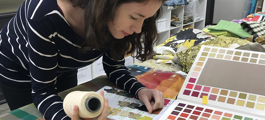 Textile Design Graduate, Bronagh Teague discusses her exciting, international career in South East Asia