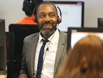 Sir Lenny Henry Clearing hotline