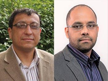 Mohamed Gaber and Shadi Basura