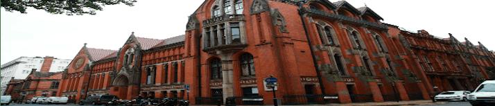 Shot of the School of Art in Margaret Street