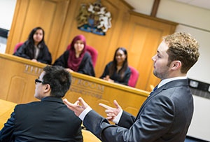 Mock court rooms available at School of Social Sciences