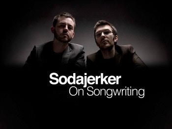 Sodajerker songwriting team: Simon Barber and Brian O'Connor