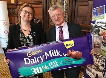 Maxine Lintern spent a week shadowing Steve McCabe MP (right)