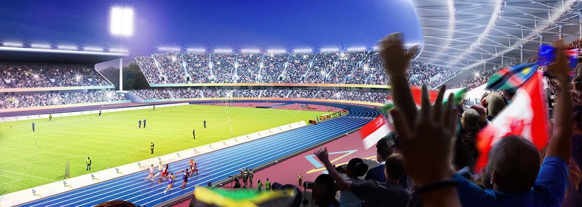 Illustration of Commonwealth Games