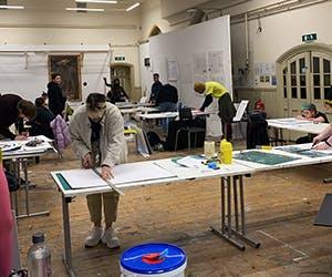 Students-in-Studio